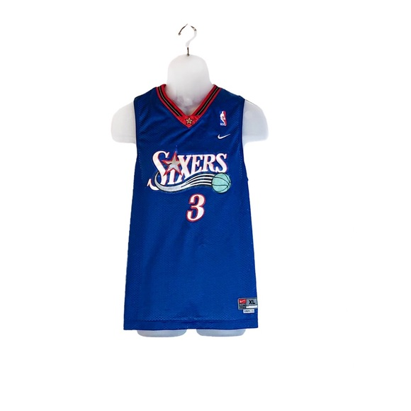 super popular 41e7f 07cc9 Allen Iverson Philadelphia 76ers Youth Jersey